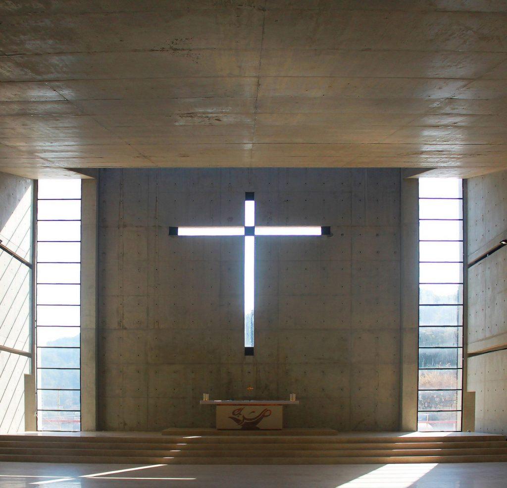 cross in concrete art